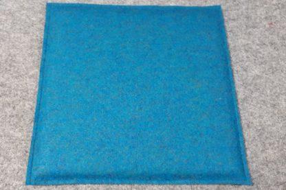 Filzkissen Blau