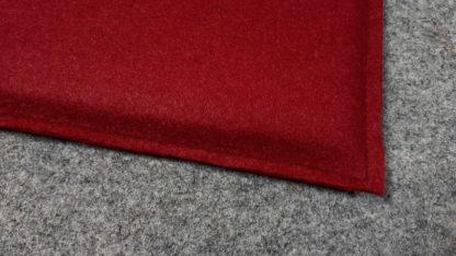 Filzkissen Rot